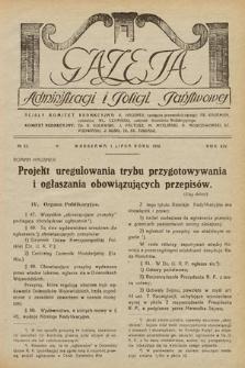 Gazeta Administracji i Policji Państwowej. 1932, nr13