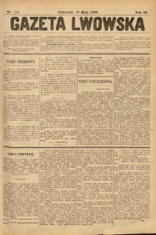 Gazeta Lwowska. 1898, nr113