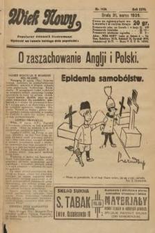 Wiek Nowy : popularny dziennik ilustrowany. 1926, nr7430
