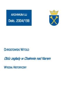 Obóz zagłady w Chełmnie nad Nerem