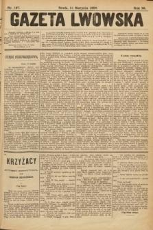 Gazeta Lwowska. 1898, nr197