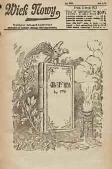 Wiek Nowy : popularny dziennik ilustrowany. 1922, nr6268