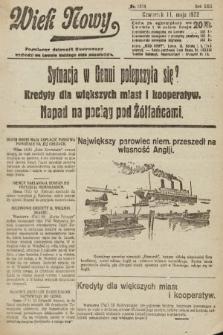 Wiek Nowy : popularny dziennik ilustrowany. 1922, nr6274