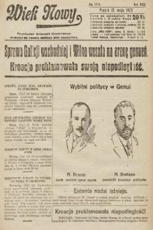 Wiek Nowy : popularny dziennik ilustrowany. 1922, nr6275