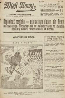 Wiek Nowy : popularny dziennik ilustrowany. 1922, nr6277