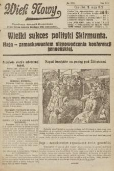 Wiek Nowy : popularny dziennik ilustrowany. 1922, nr6280