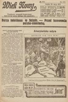 Wiek Nowy : popularny dziennik ilustrowany. 1922, nr6282