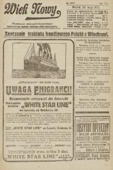 Wiek Nowy : popularny dziennik ilustrowany. 1922, nr6289