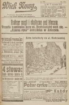 Wiek Nowy : popularny dziennik ilustrowany. 1922, nr6295