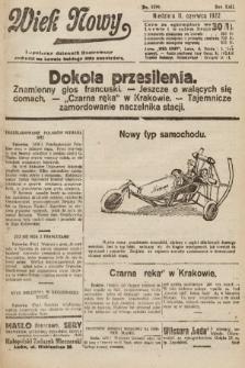 Wiek Nowy : popularny dziennik ilustrowany. 1922, nr6299