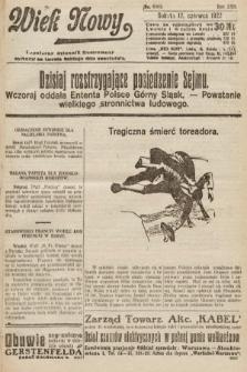 Wiek Nowy : popularny dziennik ilustrowany. 1922, nr6303