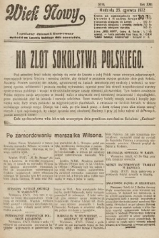 Wiek Nowy : popularny dziennik ilustrowany. 1922, nr6310