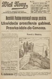 Wiek Nowy : popularny dziennik ilustrowany. 1922, nr6311