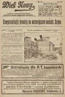 Wiek Nowy : popularny dziennik ilustrowany. 1922, nr6320