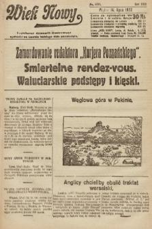 Wiek Nowy : popularny dziennik ilustrowany. 1922, nr6325