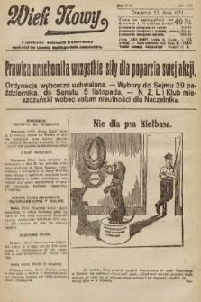 Wiek Nowy : popularny dziennik ilustrowany. 1922, nr6336