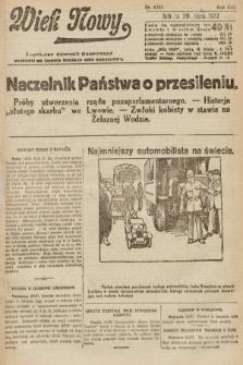 Wiek Nowy : popularny dziennik ilustrowany. 1922, nr6338