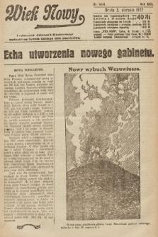 Wiek Nowy : popularny dziennik ilustrowany. 1922, nr6341