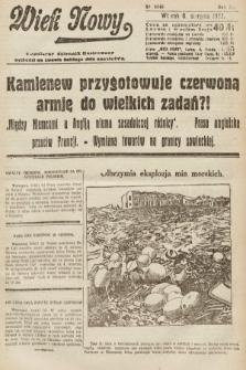 Wiek Nowy : popularny dziennik ilustrowany. 1922, nr6346
