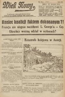Wiek Nowy : popularny dziennik ilustrowany. 1922, nr6350