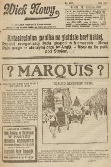 Wiek Nowy : popularny dziennik ilustrowany. 1922, nr6361