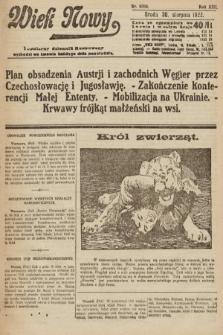 Wiek Nowy : popularny dziennik ilustrowany. 1922, nr6364