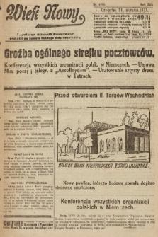 Wiek Nowy : popularny dziennik ilustrowany. 1922, nr6365