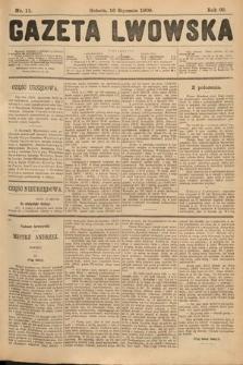Gazeta Lwowska. 1909, nr11