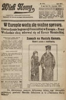 Wiek Nowy : popularny dziennik ilustrowany. 1924, nr6762