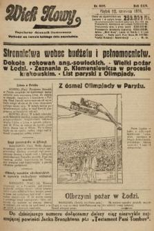 Wiek Nowy : popularny dziennik ilustrowany. 1924, nr6889