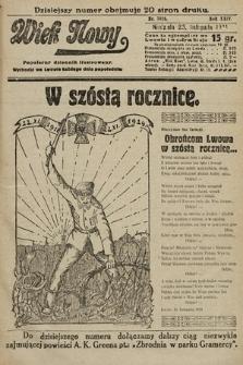 Wiek Nowy : popularny dziennik ilustrowany. 1924, nr7026