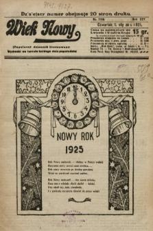 Wiek Nowy : popularny dziennik ilustrowany. 1925, nr7056
