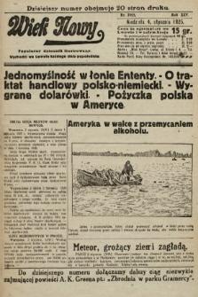 Wiek Nowy : popularny dziennik ilustrowany. 1925, nr7058