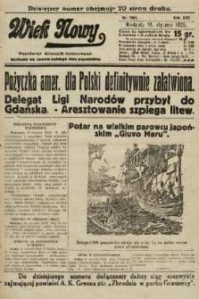 Wiek Nowy : popularny dziennik ilustrowany. 1925, nr7069