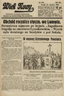 Wiek Nowy : popularny dziennik ilustrowany. 1925, nr7073