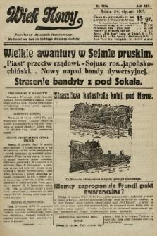 Wiek Nowy : popularny dziennik ilustrowany. 1925, nr7074