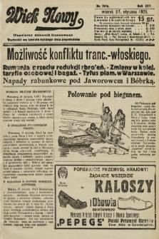 Wiek Nowy : popularny dziennik ilustrowany. 1925, nr7076