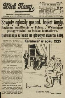Wiek Nowy : popularny dziennik ilustrowany. 1925, nr7077