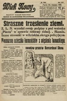 Wiek Nowy : popularny dziennik ilustrowany. 1925, nr7079