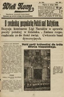 Wiek Nowy : popularny dziennik ilustrowany. 1925, nr7085