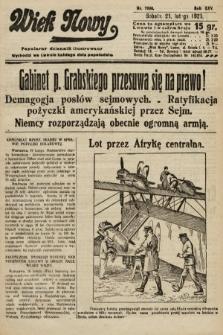 Wiek Nowy : popularny dziennik ilustrowany. 1925, nr7098