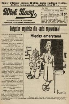Wiek Nowy : popularny dziennik ilustrowany. 1925, nr7099
