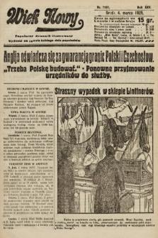 Wiek Nowy : popularny dziennik ilustrowany. 1925, nr7107