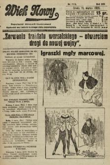 Wiek Nowy : popularny dziennik ilustrowany. 1925, nr7113