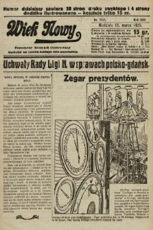 Wiek Nowy : popularny dziennik ilustrowany. 1925, nr7117