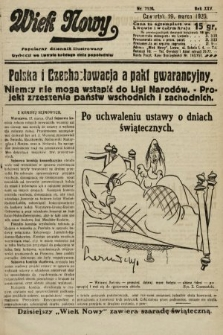 Wiek Nowy : popularny dziennik ilustrowany. 1925, nr7120