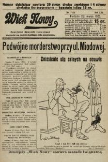 Wiek Nowy : popularny dziennik ilustrowany. 1925, nr7123
