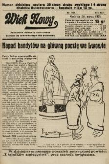 Wiek Nowy : popularny dziennik ilustrowany. 1925, nr7129