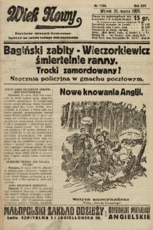Wiek Nowy : popularny dziennik ilustrowany. 1925, nr7130
