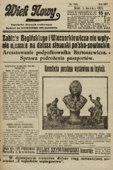 Wiek Nowy : popularny dziennik ilustrowany. 1925, nr7131